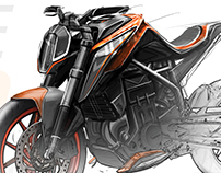 KTM research // DUKE 390