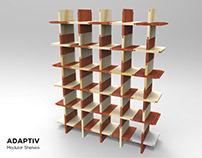 Retail Design- Modular Book Shelf