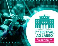 7º Festival ao Largo - Millennium bcp | Branding