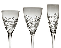 'Winter Palace' - Crystal Stemware by Marcus Notley