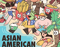Asian American Expo summer poster