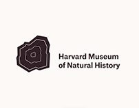 Harvard Museum of Natural History Logo Concept