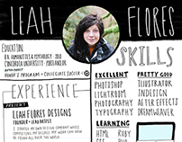 Handwritten Resume