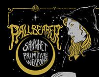 Pallbearer show poster