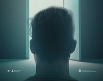 """Póster no oficial para el cortometraje """"Ícaro"""" (2017)."""