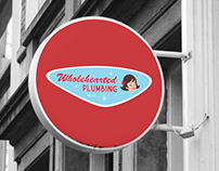 Branding & Logo Design | Wholehearted Plumbing