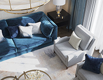 Neo classic living room