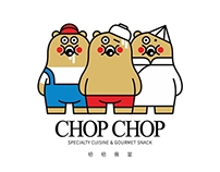 Logo&Visual Design for CHOP CHOP