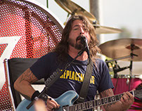 Foo Fighters at Finale of Love Ride