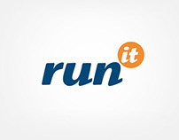 run it - logotype and website for it company