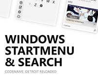Windows Startmenu & Search - Detroit Reloaded