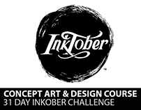 Concept Art Course- Inktober Drawing Activity
