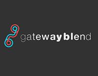 Gateway Blend Logo Design