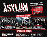 The Asylum Listings Poster