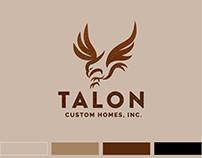 Talon Custom Homes, LLC Brand Identity