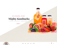 Mighty Kombucha - Woocommerce