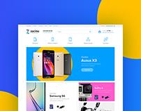 Zacinu | Online store