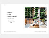 Urban Farm Organization.