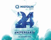 24º Aniversário Mistolin Company
