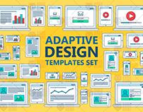 Stroked Adaptive Design Elements