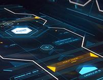 Control Unit FUI Concept