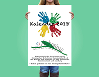 Kindergartenkalender with Ads