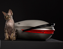 First LUXURY PET carrier by Waul Studio