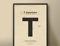 T Junctions| TypographicalPoster