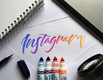 Instagram Hand-Lettering Collection 2017 Vol. 3