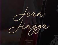 Jean Jingga – Free Font