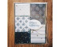 Constellation Birthday Card
