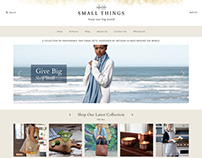 12 Small Things Shopify Site