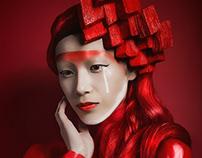 Techno Colour: RED