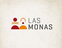 Logotipo LAS MONAS