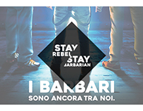 Stay Rebel, Stay Barbarian - Stampe Interattive