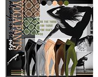 Yoga pants design