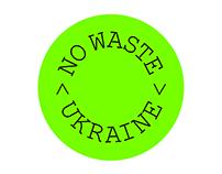 Nowaste Ukraine Brand Identity