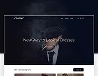 Fashion Ecommerce Website Design Concept