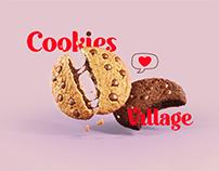 Cookies village Logo | KSA
