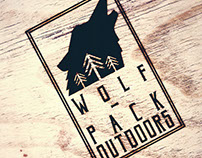 'Wolf-Pack Outdoors' || Brand design