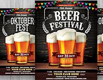 Oktoberfest / Beer Festival flyer
