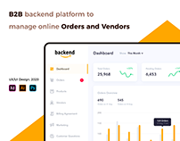 B2B Backend - Web UI UX Project