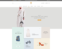 E COMMERCE WEBSITE DESIGN - 2018
