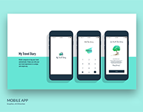 My Travel Diary App. UI/UX