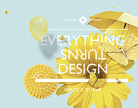 Everything turns design