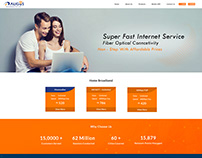 Broadband Service Provider Website Design
