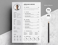 Modern Resume 3 Pages