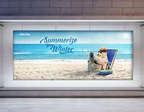 WHITEBAY .. Summerize Your Winter Campaign