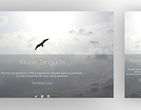 Akane HTML5 template free to download