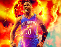 Russel Westbrook - Oklahoma City Thunder